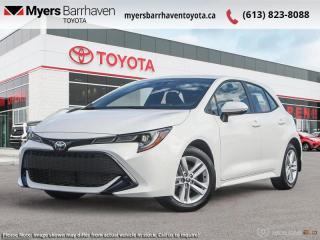 New 2021 Toyota Corolla Hatchback SE  - Navigation - $159 B/W for sale in Ottawa, ON