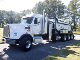 Used 2015 Freightliner Coronado 122 Dump Vacuum Tanker Truck Diesel With Sleeper And Air Brakes for sale in Burnaby, BC