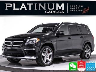 Used 2013 Mercedes-Benz GL-Class GL63 AMG 4MATIC, 550HP V8, DISTRONIC, MASSAGE,NAV for sale in Toronto, ON