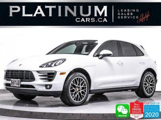 Used 2017 Porsche Macan S, 340HP AWD, PREMIUM PLUS, CAM, NAV, PANO, HEATED for sale in Toronto, ON