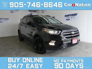 Used 2018 Ford Escape SE SPORT APPEARANCE PKG | REAR CAM |19