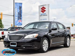 Used 2013 Chrysler 200 LX ~Power Windows + Locks ~A/C ~Keyless Entry for sale in Barrie, ON