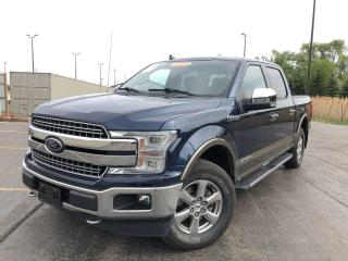 Used 2018 Ford F-150 Lariat DIESEL CREW FX4 4WD for sale in Cayuga, ON