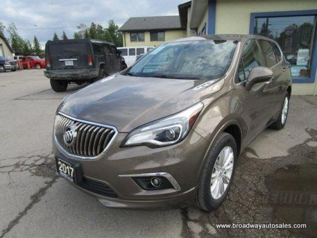 2017 Buick Envision ALL-WHEEL DRIVE PREFERRED EDITION 5 PASSENGER 2.5L - DOHC.. HEATED SEATS.. BACK-UP CAMERA.. BLUETOOTH SYSTEM.. TOUCH SCREEN DISPLAY.. KEYLESS ENTRY..