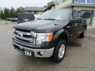 Used 2013 Ford F-150 WORK READY XLT-MODEL 6 PASSENGER 3.5L - ECO-BOOST.. 4X4.. CREW-CAB.. SHORTY.. TOW SUPPORT.. SYNC TECHNOLOGY.. KEYLESS ENTRY.. for sale in Bradford, ON