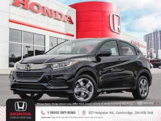 New 2021 Honda HR-V LX REARVIEW CAMERA | HONDA SENSING TECHNOLOGIES | APPLE CARPLAY™ & ANDROID AUTO™ for sale in Cambridge, ON