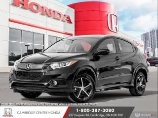 New 2021 Honda HR-V Sport REARVIEW CAMERA | HONDA SENSING TECHNOLOGIES | APPLE CARPLAY™ & ANDROID AUTO™ for sale in Cambridge, ON