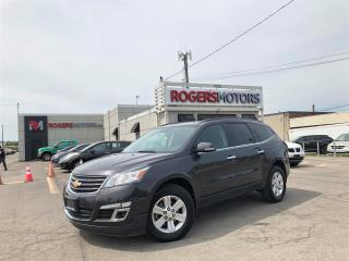Used 2014 Chevrolet Traverse 1LT AWD - 7 PASS - PANO ROOF - REVERSE CAM for sale in Oakville, ON
