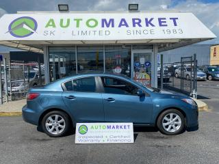 Used 2010 Mazda MAZDA3 i Sport 4-Door SEDAN AUTO SUNROOF BLUETOOTH! IN HOUSE FINANCE, NO CREDIT NEEDED! for sale in Langley, BC