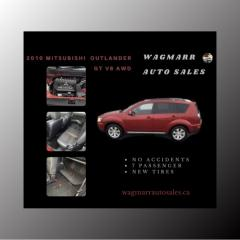 Used 2010 Mitsubishi Outlander GT for sale in Kingston, ON
