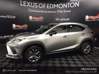 New 2021 Lexus NX 300 F Sport Series 1 for sale in Edmonton, AB