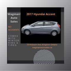 Used 2017 Hyundai Accent GL for sale in Kingston, ON