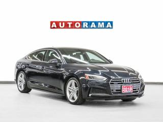 Used 2018 Audi A5 S-line Progressiv SportBack Nav Leather Sunroof for sale in Toronto, ON