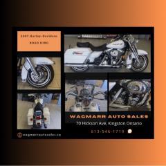 Used 2007 Harley-Davidson ROAD KING for sale in Kingston, ON