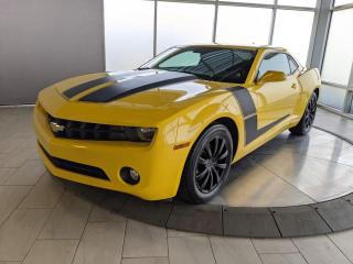 Used 2010 Chevrolet Camaro 1LT | Manual Transmission | Sunroof | LOW KMS! for sale in Edmonton, AB