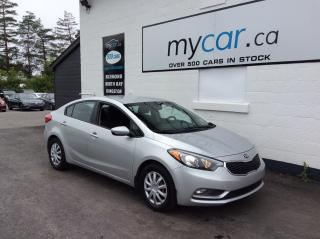 Used 2016 Kia Forte 1.8L LX POWERGROUP, BLUETOOTH, A/C!! for sale in Richmond, ON