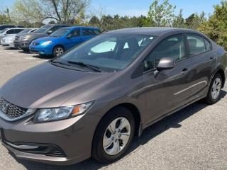 Used 2013 Honda Civic LX | No Accidents! for sale in Brantford, ON