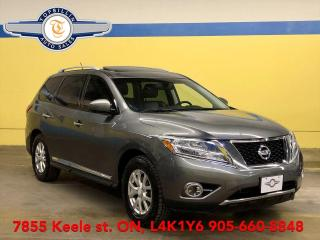 Used 2015 Nissan Pathfinder 4WD, Navi, Double SkyRoof, 360 Cam, Blind Spot for sale in Vaughan, ON