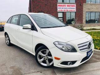 Used 2013 Mercedes-Benz B-Class B250 Turbo ~ B.UP CAM~HEATED SEATS~B.T.~LOW KM!!! for sale in Rexdale, ON