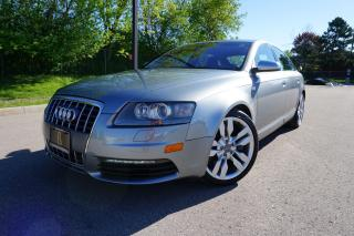 Used 2008 Audi S6 RARE / LOW KM / NO ACCIDENTS / STUNNING / 5.2 V10 for sale in Etobicoke, ON