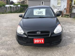 Used 2011 Hyundai Accent GL for sale in Hamilton, ON