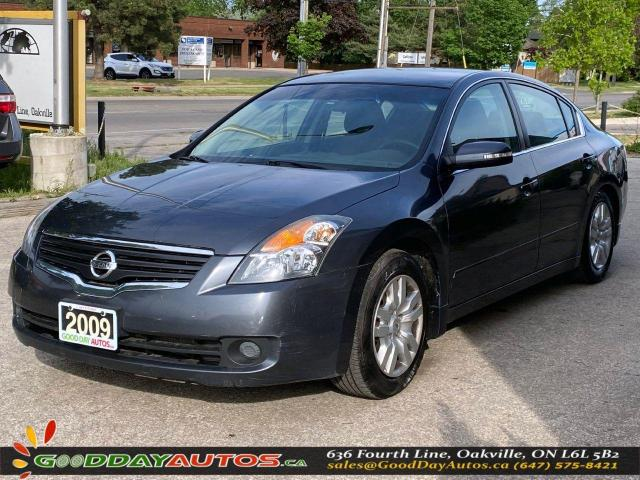 2009 Nissan Altima S|SINGLE OWNER|LOW KM|NO ACCIDENT|CERTIFIED