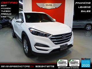 Used 2017 Hyundai Tucson AWD PREMIUM   CLEAN CARFAX   CERTIFIED   FINANCE   9055478778 for sale in Oakville, ON