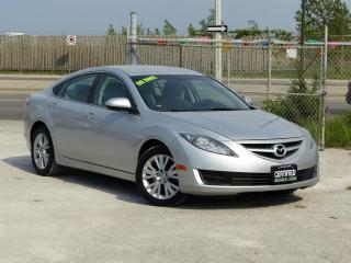 Used 2010 Mazda MAZDA6 GS,ALLOY RIMS,NO-ACCIDENT,CERTIFIED,LOW KMS,AUTO for sale in Mississauga, ON