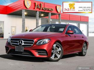 Used 2018 Mercedes-Benz E-Class Fully Fully Loaded, AWD for sale in Brandon, MB
