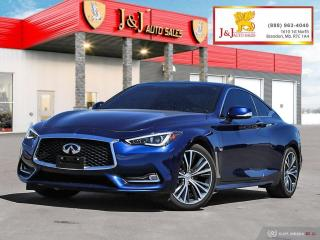 Used 2018 Infiniti Q60 3.0T Sport AWD,Fully Fully Loaded for sale in Brandon, MB