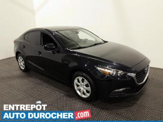 Used 2018 Mazda MAZDA3 GX - Bluetooth - Caméra de Recul - Climatiseur for sale in Laval, QC