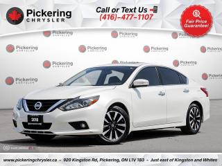 Used 2018 Nissan Altima 2.5 SV - LEATHER/SUNROOF/NAV/HEATED SEATS/CARPLAY for sale in Pickering, ON