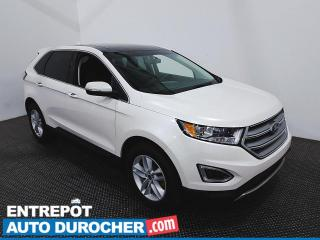 Used 2017 Ford Edge SEL AWD NAVIGATION - Toit Ouvrant - AIR CLIMATISÉ for sale in Laval, QC