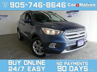 Used 2018 Ford Escape SE | REAR CAM | SYNC | ONLY 25 KM! | NEW CAR TRADE for sale in Brantford, ON