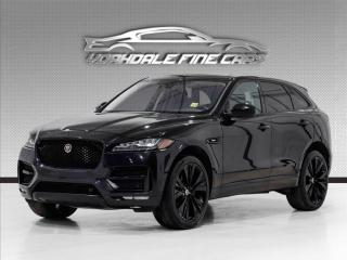 Used 2017 Jaguar F-PACE AWD 35t R-Sport Navigation, Camera, No Accidents for sale in Concord, ON