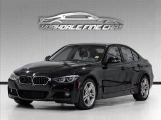 Used 2017 BMW 3 Series 330i xDrive, M Sport Pkg Black On Red Interior Navi cam for sale in Concord, ON