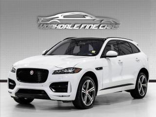 Used 2017 Jaguar F-PACE 35t R-Sport, Panoramic, Navi, Lane Assist for sale in Concord, ON