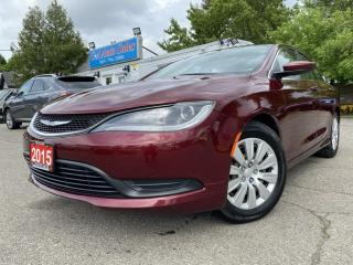 Used 2015 Chrysler 200 4dr Sdn LX FWD ACCIDENT FREE, ONE OWNER for sale in Brampton, ON