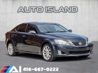 Used 2010 Lexus IS 250 4DR SDN AUTO AWD for sale in North York, ON