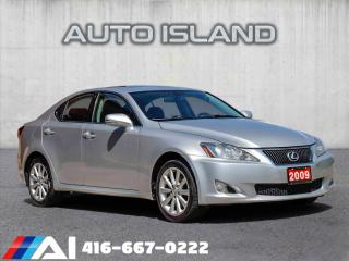 Used 2009 Lexus IS 250 ALL WHEEL DRIVE**SUPER CLEAN for sale in North York, ON