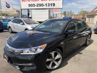 Used 2017 Honda Accord EX-L Navigation/Leather/Camera/Dual Screen for sale in Mississauga, ON