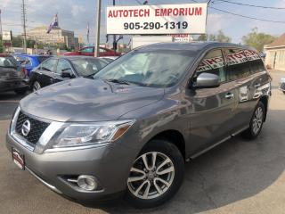 Used 2016 Nissan Pathfinder 7-Passenger Camera/All Power/Cruise/Rear Air&ABS* for sale in Mississauga, ON