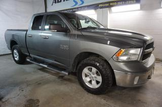 Used 2013 RAM 1500 SLT 4x4 CERTIFIED 2YR WARRANTY *1 OWNER* BLUETOOTH CRUISE RUNNING BOARD ALLOYS for sale in Milton, ON