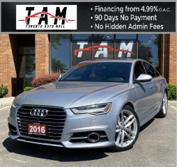 Used 2016 Audi A6 3.0T S-Line Technik NAVI Sunroof 360 Cam PDC Clean Carfax for sale in North York, ON