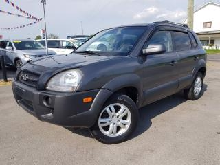Used 2008 Hyundai Tucson GL 2.7 2WD **V-6** for sale in Dunnville, ON