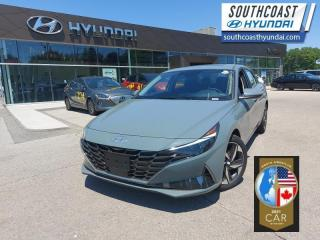 New 2021 Hyundai Elantra Ultimate  Tech IVT  - Leather Seats - $189 B/W for sale in Simcoe, ON