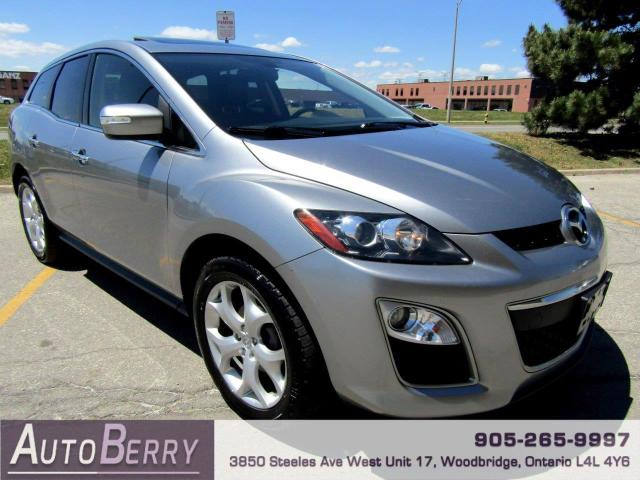 2011 Mazda CX-7 s Grand Touring AWD Navi Bluetooth Accident Free One Owner!