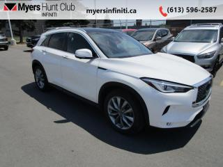 Used 2019 Infiniti QX50 Essential AWD  - Sunroof -  Leather Seats for sale in Ottawa, ON