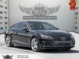 Used 2018 Audi A5 Coupe Technik, AWD, COUPE, S-LINE, NAVI, 360CAM, B.SPOT, PANO for sale in Toronto, ON