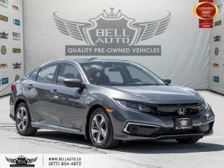 Used 2019 Honda Civic Sedan LX, REARCAM, NO ACCIDENT, BLUETOOTH, LANE ASST for sale in Toronto, ON